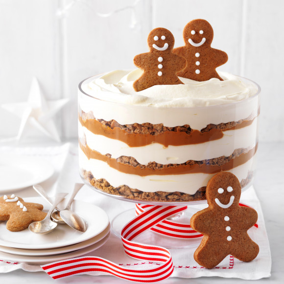 How to make Gingerbread trifle