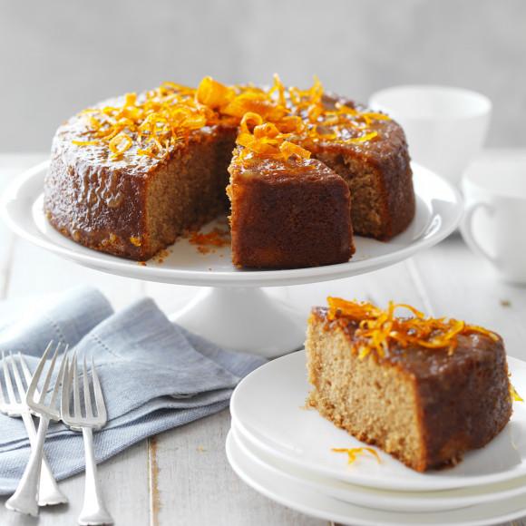 Marmalade and Almond Tea Cake