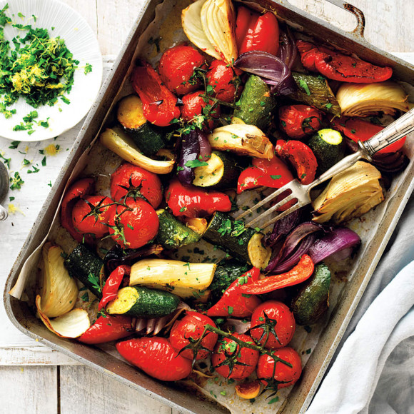 Italian Style Roasted Vegetables recipe