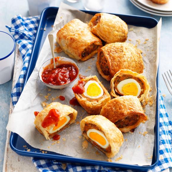 Egg sausage rolls in Airfryer