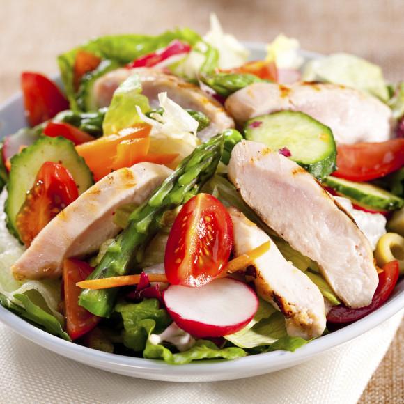 Sweet Chilli Chicken Salad Recipe Myfoodbook