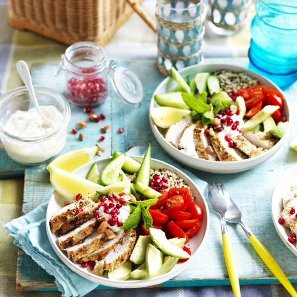 Dukkah Chicken Buddah Bowls