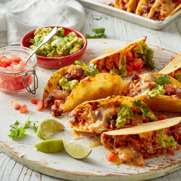 Mexican Shredded Chicken Tacos Recipe