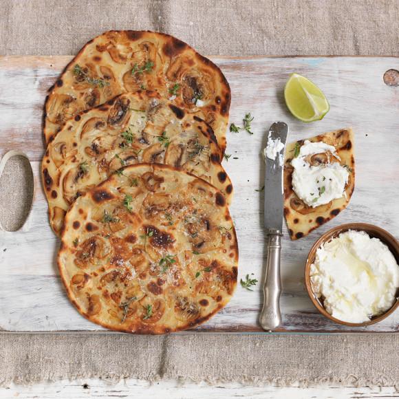 food recipes quick flatbreads