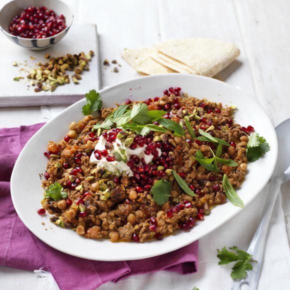 Moroccan Style Mushroom and Lamb