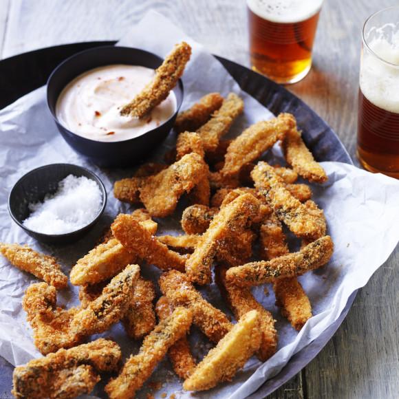 Portabella Mushroom Fries