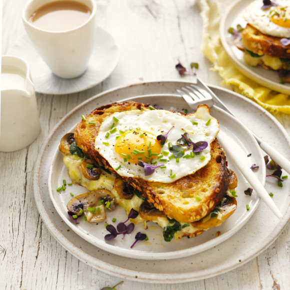Healthy Croque Madame Recipe