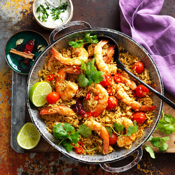 One-pan Prawn Coconut Curry Recipe