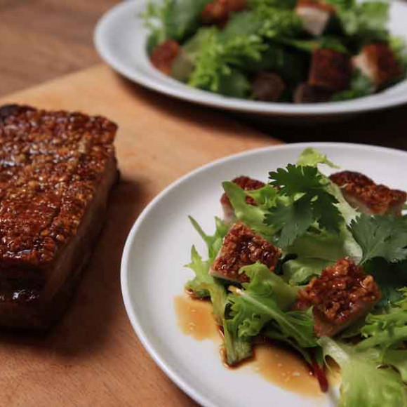 Asian Pork Belly Salad