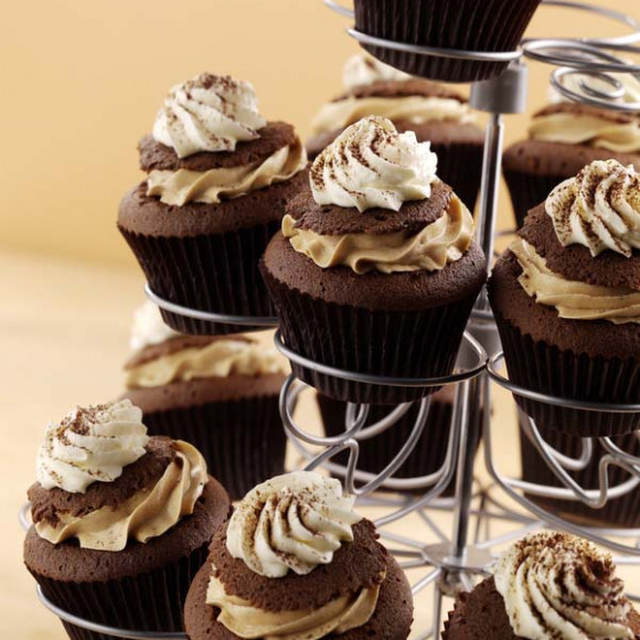 Cappuccino Cupcakes Recipe | myfoodbook