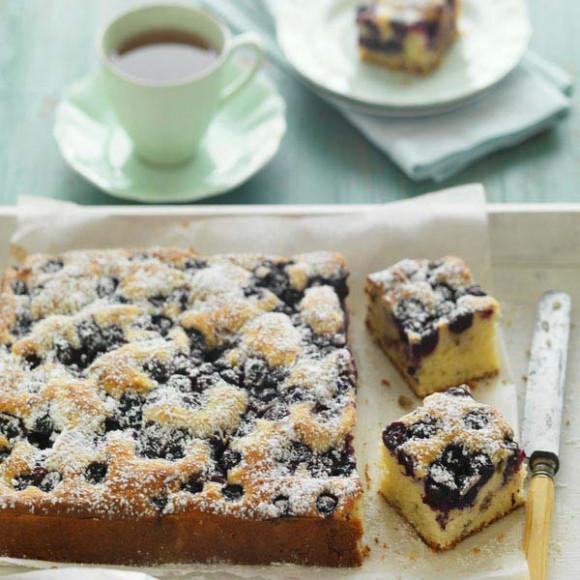 Blueberry & Walnut Teacake