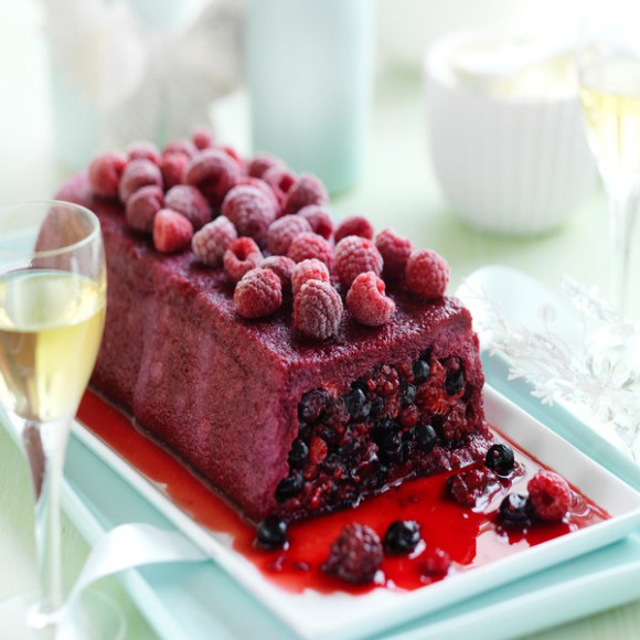 Summer Berry Pudding With Mascarpone Cream Recipe