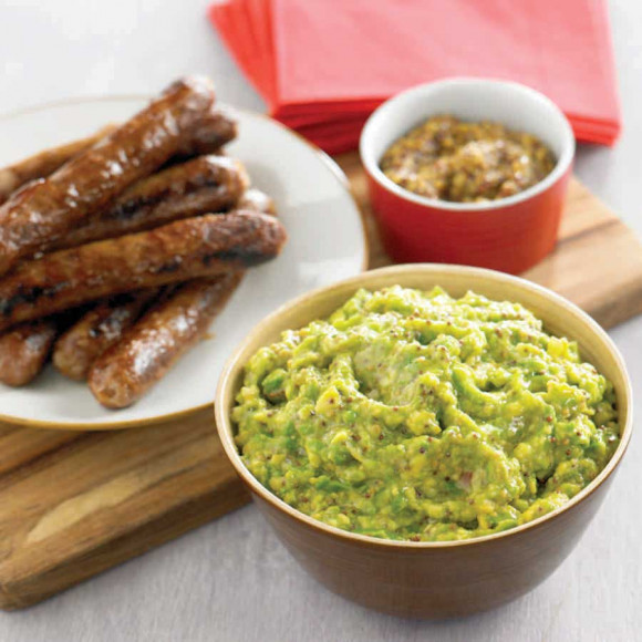 Honey Mustard Guacamole