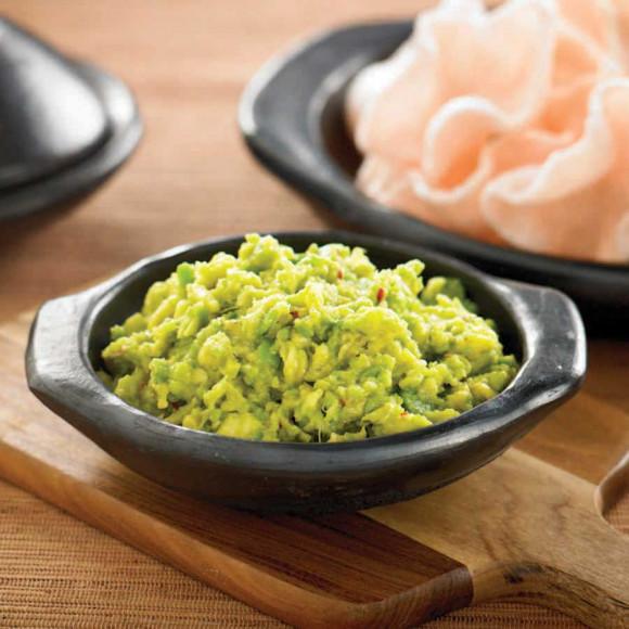 Soy and Avocado Guacamole