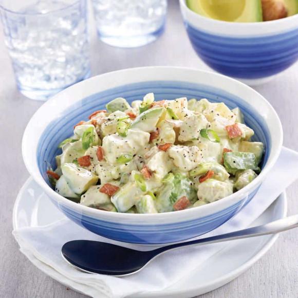 Avocado Chicken and Egg Salad