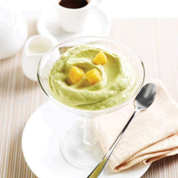 Creamy Avocado and Mango Mousse