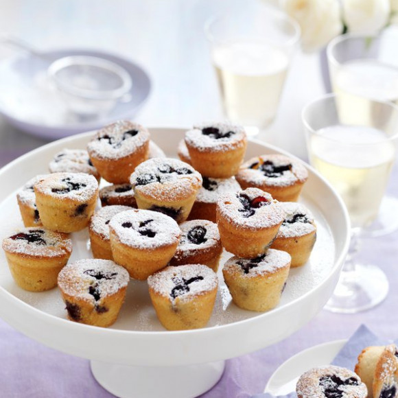 Mini Blueberry Friands