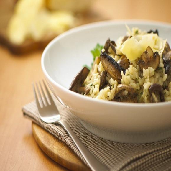Mushroom & Parmesan Risotto