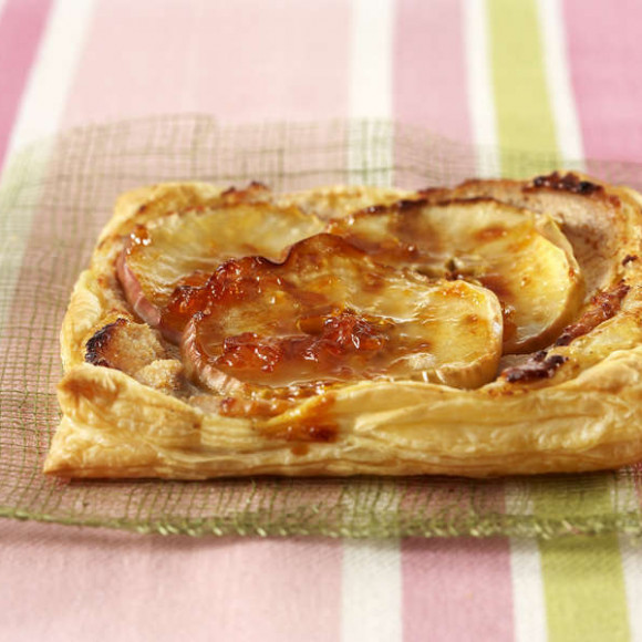 Apple & Ricotta Pastry Squares