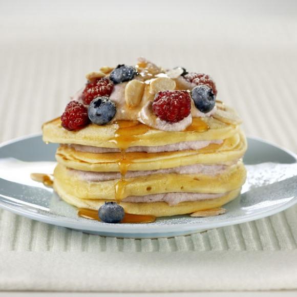 Berry Ricotta Hotcakes Recipe | myfoodbook | Make a cookbook with ...