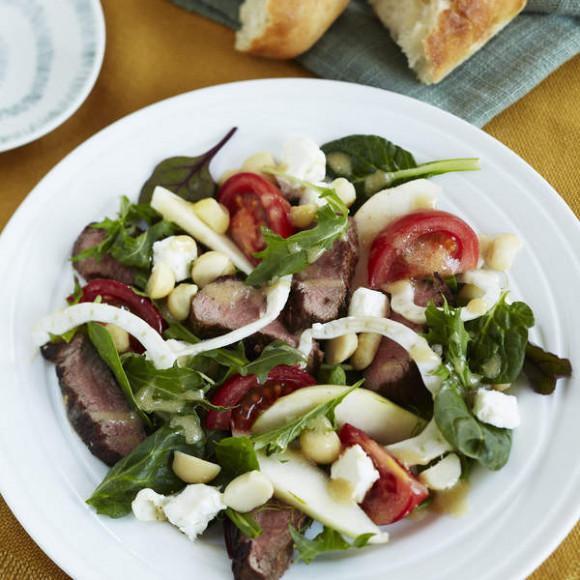 Lamb and Macadamia Summer Salad