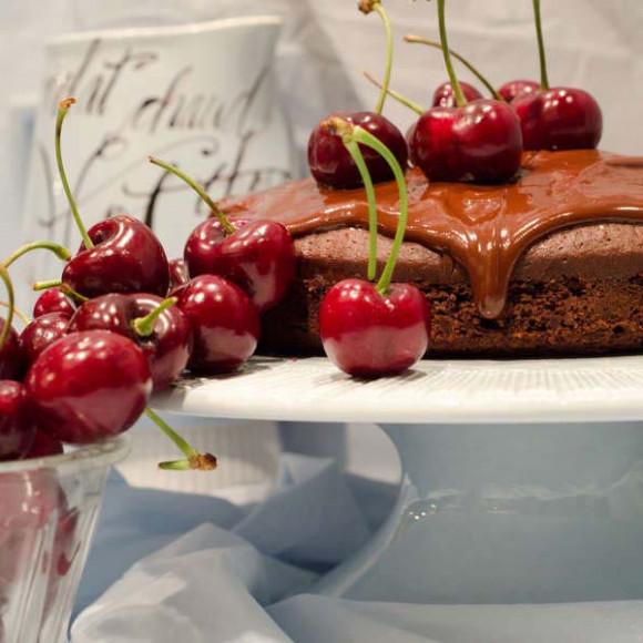 Turkish Delight Chocolate Cake