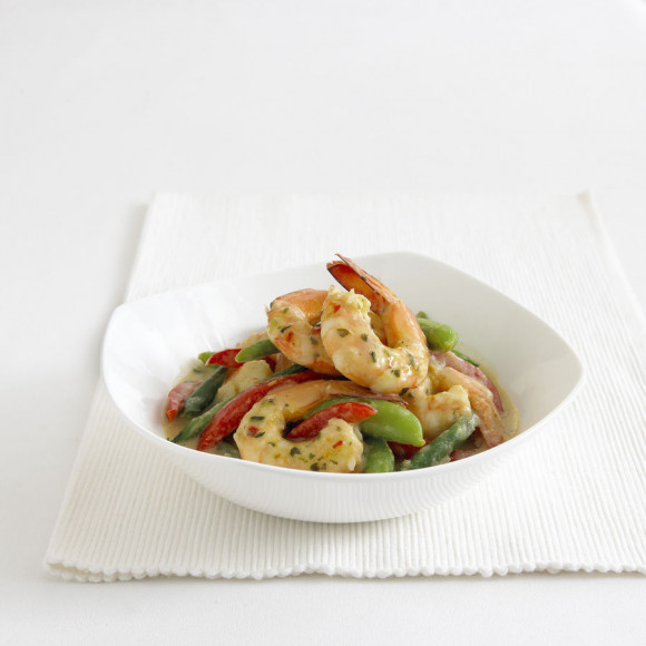 how to make thai prawn curry