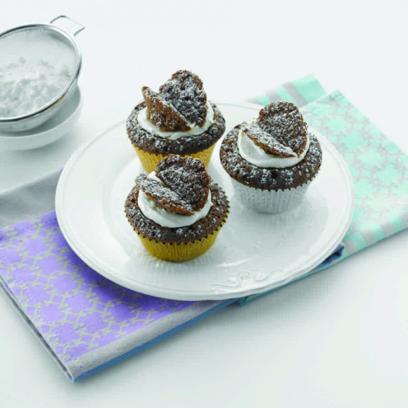 Chocolate Butterfly Cakes Recipe Myfoodbook Make A
