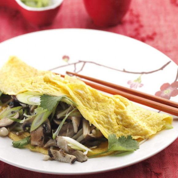 asian style omelette recipe myfoodbook