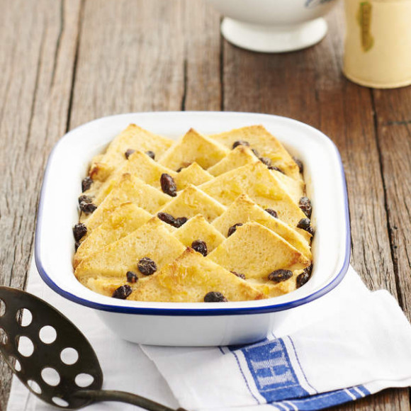 Gluten Free Bread and Butter Pudding