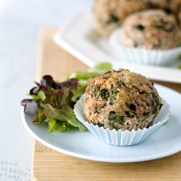 Turkey Muffin recipe - high protein snacks