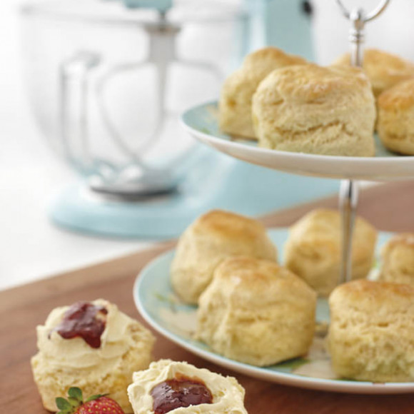 Traditional Scones made with KitchenAid mixer