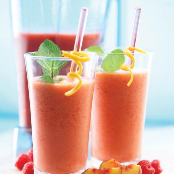 Peach & Raspberry Twist