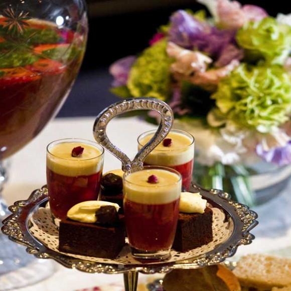Dilmah gourmet earl grey flourless chocolate truffle cake
