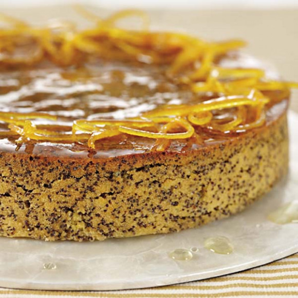 Easy Orange and Poppyseed Cake Recipe