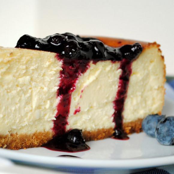 Fresh Berry Farm Blueberry Cheesecake