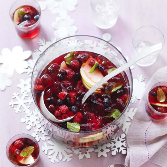 Berry Apple & Cranberry Punch