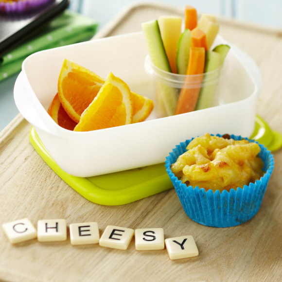 Macaroni and Cheese Muffins