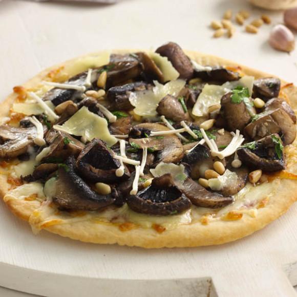 Wild Mushroom Pizza Recipe | myfoodbook | Make a cookbook with Perfect ...