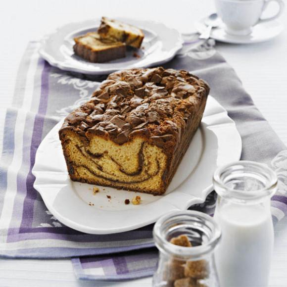 Spiced Chocolate Ripple Cake