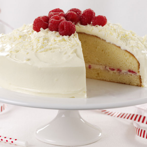 White Chocolate And Raspberry Wedding Cake Recipe