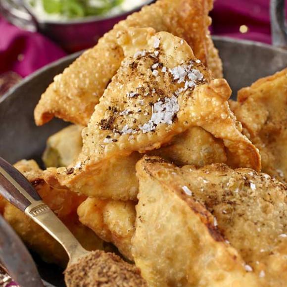 Homemade Samosa - Gluten Free option available