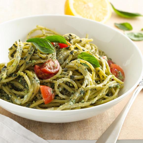 Ricotta Pesto Pasta