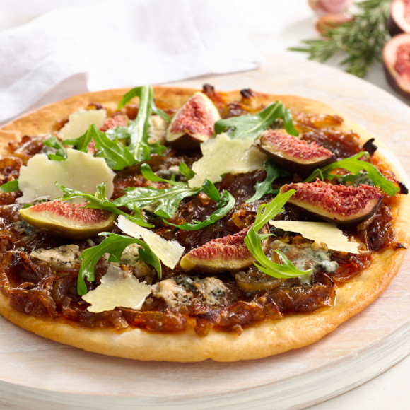 Caramelised Onion, Fig & Gorgonzola Pizza