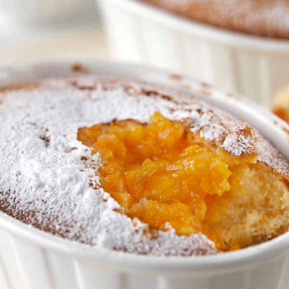 Easy Apricot Pudding.