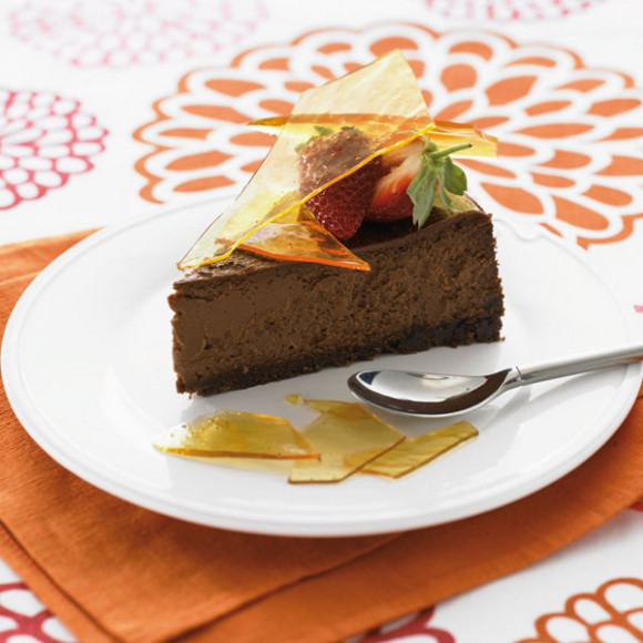 Chocolate Caramel Cheesecake Recipe | myfoodbook | Make a cookbook ...