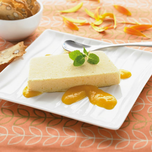 Nectarine Ice Cream Loaf