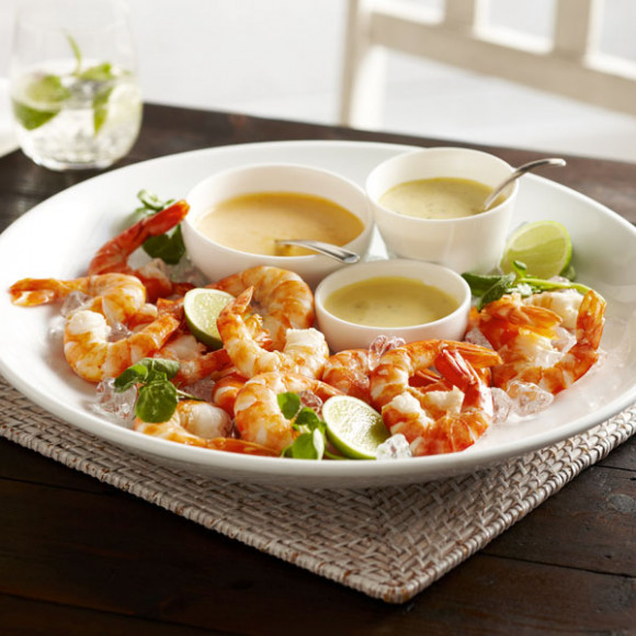 3 Dipping Sauces for Prawns