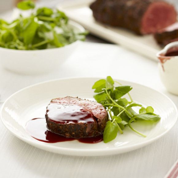 Rich Red Wine, Cranberry and Star Anise Sauce