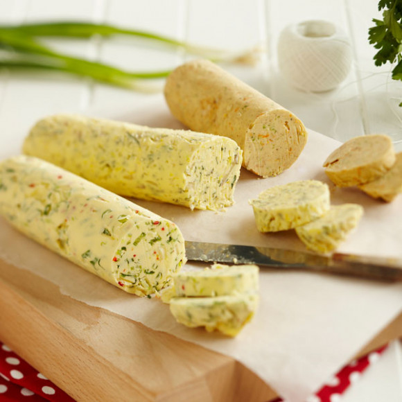 Three Flavoured butters - for roasting Chicken or Turkey